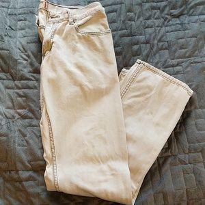 White Levi 514 Slim Straight jeans 33W 32L